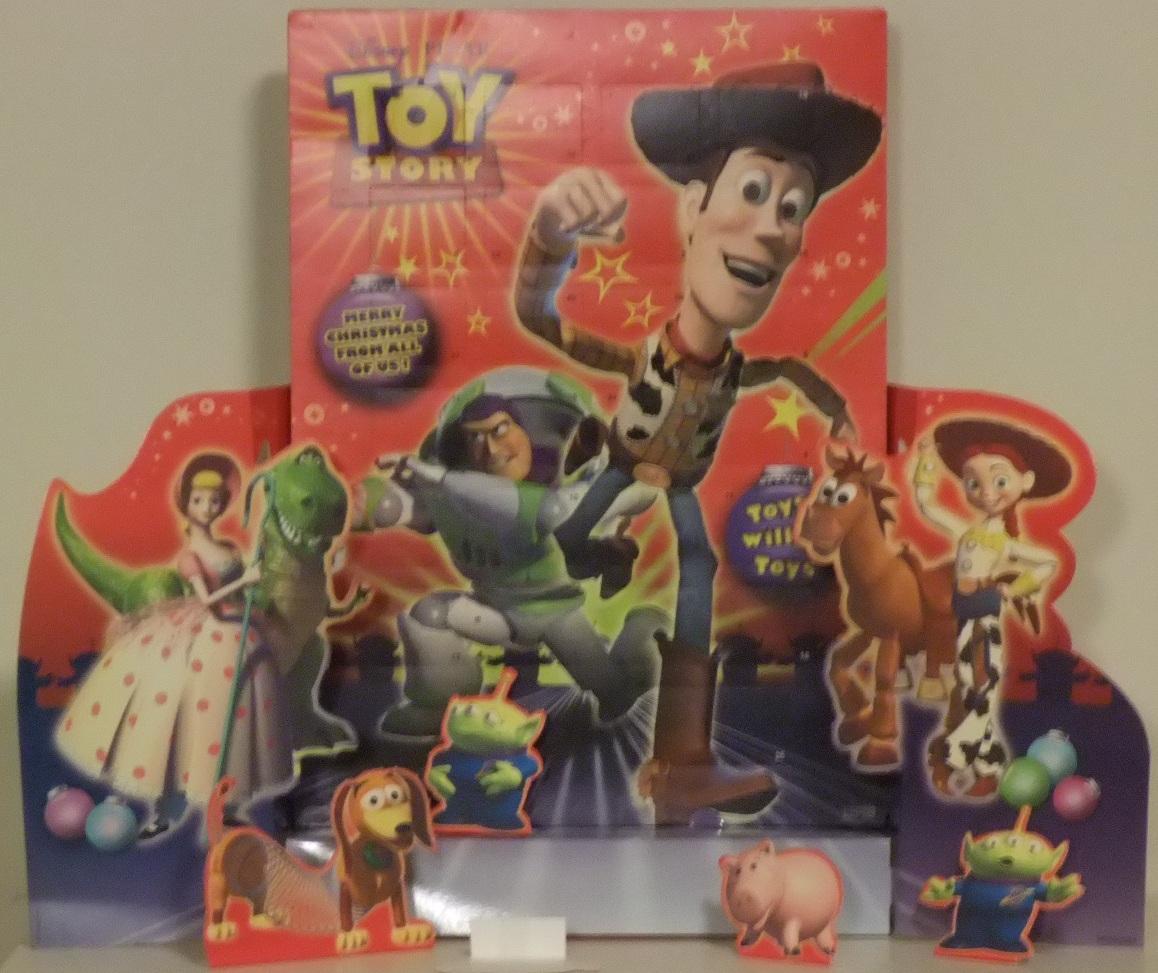Massive 3D Toy Story 3 Christmas Calendar